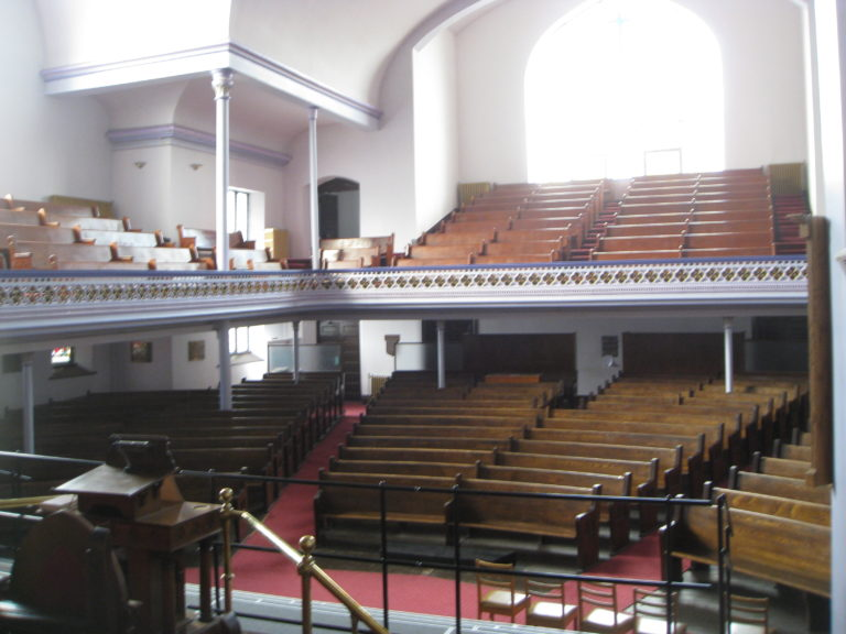 Sanctuary - seating